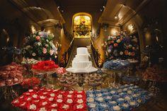 Mesa de doces - Casamento Clássico Foto Fabio Vanzan