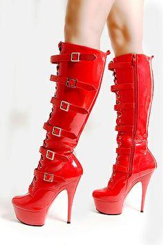 Platform Knee-Boots