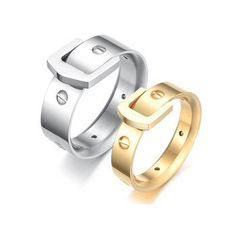 Cincin couple stainless steel - ICCR805