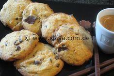 Schnelle Schoko-Cookies-Kekse   Slava.com.de   Bloglovin'