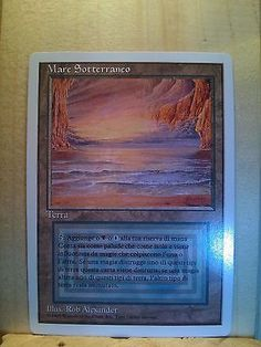 ITALIAN Dual Fetch Liliana Tarmogoyf Jace MTG Magic the Gathering Perfect Proxy