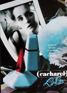 Publicité du parfum Loulou (1991) de Cacharel