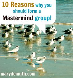 Why should you create/join a mastermind group? 10 reasons from Mary Demuth