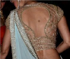 saree blouses back designs 87