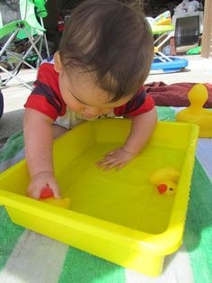 toddler/infant waterplay