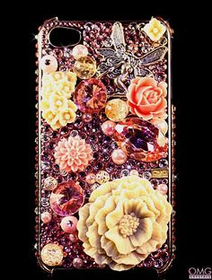 Bling Crystal iPhone 4 & 4S Case Handmade with by OMGcrystals, $115.00
