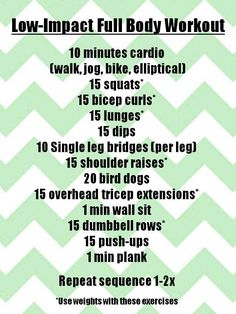 The Healthy Sooner: A Full Body Workout
