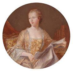 1755 - Marquise de Pompadour by ? after de Latour
