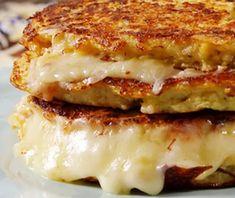 Recipes | Burstofflavors | Cauliflower Grilled Cheese Sandwich