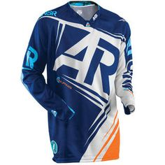 Answer ANSR 2016 Alpha Air Blue Orange Jersey