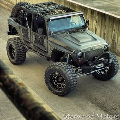 Starwood Motors Custom Kevlar Jeep- FMJ Edition