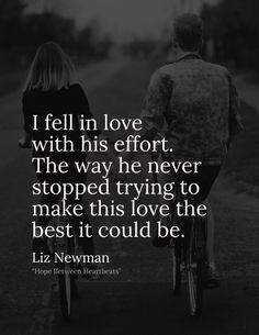 Liz Newman quote