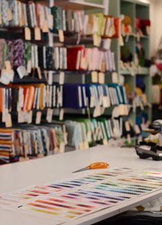 Feature: Die Stoffschwester - we love handmade Vienna Guide, Craft Shop, Our Love, Diy, Handmade, Crafts, Design, Fabrics, Hand Made