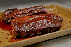 Easy fall-off-the-bone Oven Baked Pork Spare Ribs