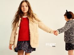"Aroa & Arrieta from Sugar Kids for Mango ""Back to School"" fw16"