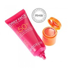 """Sunscreen with coverage"" 