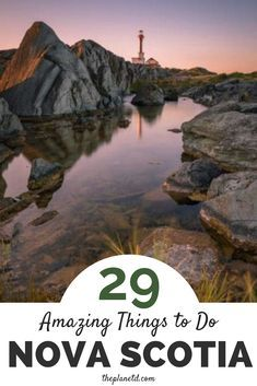 29 amazing things to do and see in Nova Scotia, Canada. The ultimate road trip destination, Halifax offers attractions, restaurants … Cabot Trail, East Coast Travel, East Coast Road Trip, Banff, Nova Scotia Travel, Visit Nova Scotia, East Coast Canada, Gros Morne, Voyage Canada