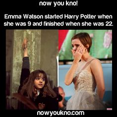 Emma Watson wasn't even old enough to go to Hogwarts and she was one of the stars! You go Emma! Harry Potter Feels, Harry Potter Hermione, Harry Potter Pictures, Harry Potter Aesthetic, Harry Potter Universal, Harry Potter Fandom, Harry Potter Characters, Ron Weasley, Pijamas Harry Potter
