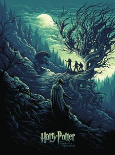 Harry Potter and the Prisoner of Azkaban by Dan Mumford - Home of the Alternative Movie Poster -AMP- Harry Potter Tumblr, Fanart Harry Potter, Harry Potter Poster, Wallpaper Harry Potter, Arte Do Harry Potter, Harry Potter Love, Harry Potter Universal, Harry Potter World, Harry Potter Memes