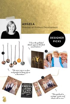 3 must-have Christmas cards and gifts picked by designer Angela.