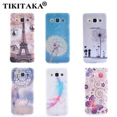 Soft TPU Cover Beautiful Dandelion Paris tower butterfly Campanula Pattern Phone Case For Samsung Galaxy A3 A3000 A5 A5000 J1 J5 #>=#>=#>=#>=#> Click on the pin to check out discount price, color, size, shipping, etc. Save and like it!