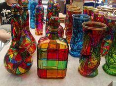 Fika a Dika - Por um Mundo Melhor: Garrafa de Vidro Decoração