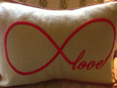 LOVE INFINITY  Valenine or Wedding Gift  INSTANT by astitchforyou, $4.00