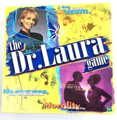 Dr. Laura Board Game New SEALED adult party game night NIB FREE SHIP &  TRACK US