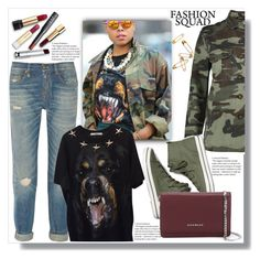 """Fashion Squad"" by queenvirgo ❤ liked on Polyvore featuring Boohoo, Keds, Givenchy, R13 and The Cambridge Satchel Company"