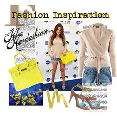 """Fashion Inspiration... Kloe Kardashian"" by zazel on Polyvore"