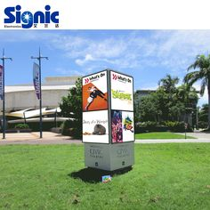 LED Outdoor Fixed Installation Video Screen LED Display for commercial advertising Led Logo, Sign Display, Logo Sign, Round Design, Advertising, Commercial, Creative, Outdoor, Outdoors