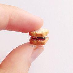 Tiny simple sandwich - #etsy #etsyau #etsywa #etsyart #etsylove #etsyelite #etsyartist #etsyseller #etsysellers #etsysale #etsyshop #etsystore #etsyperth #etsyhandmade #etsygifts #etsygiveaway #etsyjewelry #clay #claycharms #polymerclay #polymer #polymerclaycharm #miniatures #minifood #fakefood #handmade #ellxssa by ellxssa_