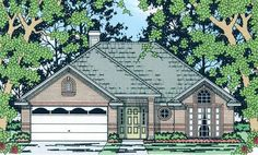Eplans Cottage House Plan - Three Bedroom Cottage - 1509 Square Feet and 3 Bedrooms from Eplans - House Plan Code HWEPL61359