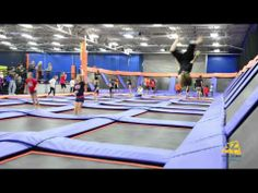 Sky Zone Roswell - Flips on Flips on Flip, So Much Fun! - Roswell Georgia