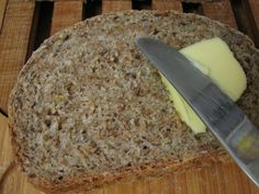 Have you ever had sprouted wheat bread? It's known most commonly as that biblical quoting stuff they sell in the freezer at your local health food store– Ezekiel bread. I have always lo… Sprouted Bread Recipe, Sprouted Wheat Bread, Wheat Bread Recipe, Bread Recipes, Thm Recipes, Homemade Ezekiel Bread Recipe, Soaked Bread Recipe, Barley Bread Recipe, Homemade Breads