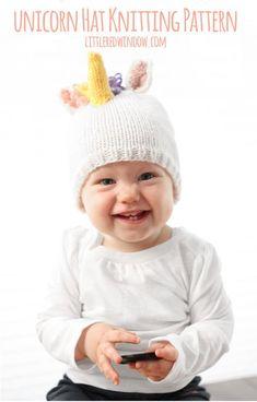 b45073f3e42 Baby Unicorn Hat KNITTING PATTERN   Unicorn Pattern   Unicorn Horn Hat    Gold Unicorn Horn   Unicorn Baby Outfit   Unicorn Patterns