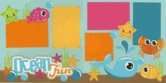 Ocean Fun Page Kit
