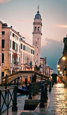 Venice, Italy - hopefully next trip with my hubby!!