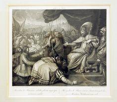 Mieczysław II i Pomorzanie, Angello Campanella (1748-1815) wg Franciszka Smuglewicza; miedzioryt