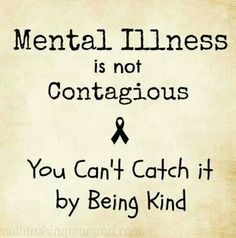 No kidding.  Compassion for everyone but the mentally ill. Stigma is real.