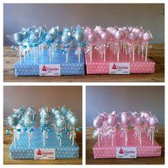 babyshower cake pops - Jen's baby shower - Kuchen Baby Shower Cakes, Baby Shower Kuchen, Baby Boy Cakes, Baby Shower Balloons, Baby Shower Favors, Baby Shower Themes, Baby Shower Gifts, Bridal Shower, Shower Ideas