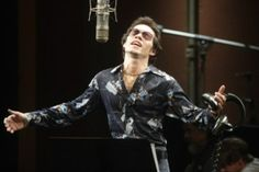 Marc Anthony as Hector Lavoe in the film El Cantante