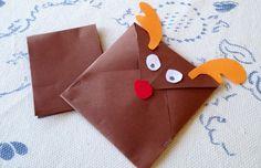 Create insieme a noi la busta perfetta per la letterina a Babbo Natale!