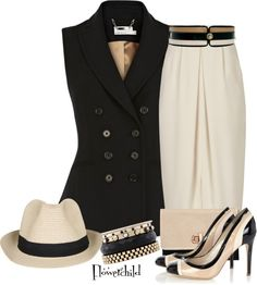 """Work Attire #3"" by flowerchild805 ❤ liked on Polyvore"