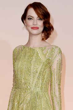 The best in beauty from the 2015 Oscars: Emma Stone