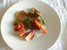 Grilles  ròti de viandes  mixtes  et legumes  Gino D'Aquino