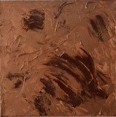 Braun in Kupfer Dieses Bild stellt einen Wirbelsturm dar. - Größe: 30x30 cm - Copyright: Elfensteins