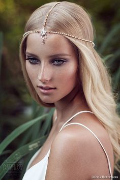 olivia headpieces w label 2015 wedding bridal swarovski crystal headband bohemian style wyn