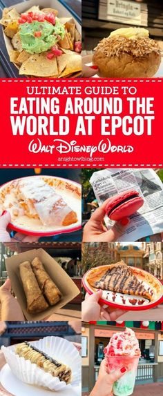 Guide to Eating Around the World at EPCOT funnel cake disney world - Funnel Cake Disney Vacation Planning, Disney World Planning, Walt Disney World Vacations, Disney Travel, Trip Planning, Disneyland Vacations, Fun Travel, Travel Things, Vacation Ideas