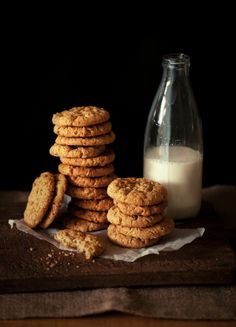 Cookies and milk   by Hannah Blackmore Photography
